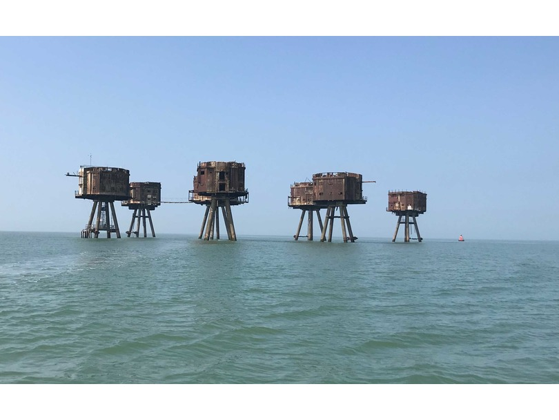Boat Trip  from Whitstable to Maunsell Forts £40